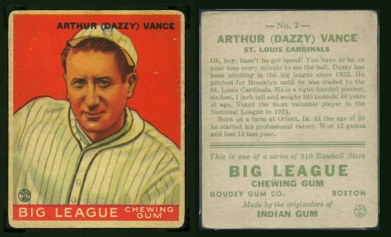 Card Album For 1933 Goudey R319